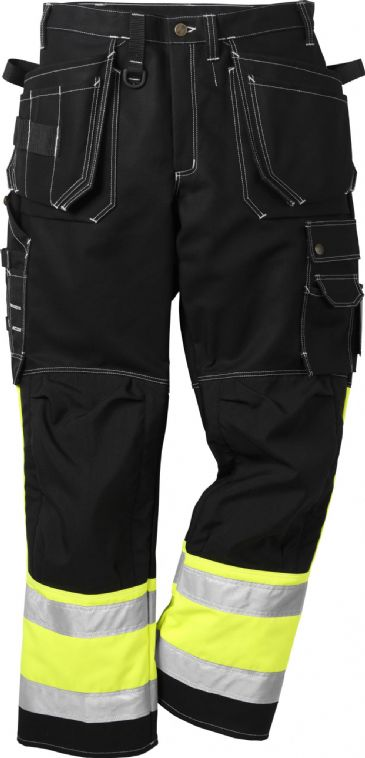 Fristads High Vis Craftsman Trousers CL 1 247 FAS (Black)